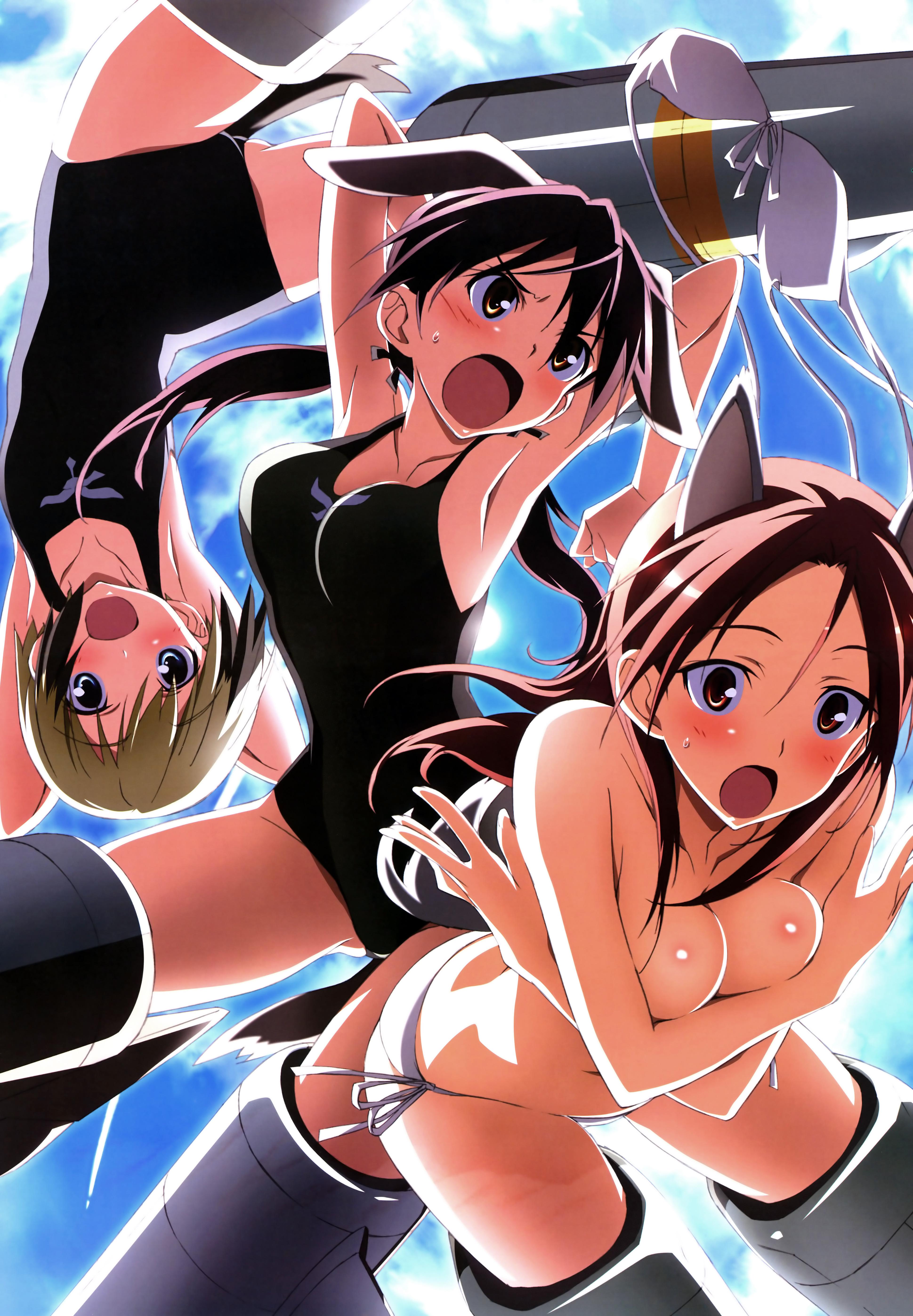 Anime Cute Girl Bikini 44